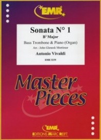 Sonata No 1 in Bb for Bass Trombone by Vivaldi published by Marc Reift