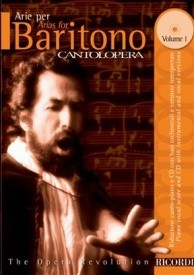 Cantolopera : Arias for Baritone 1 Book & CD published by Ricordi