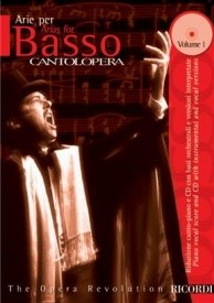 Cantolopera : Arias for Bass 1 Book & CD published by Ricordi