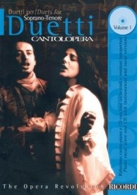 Cantolopera : Duets for Soprano & Tenor Book & CD published by Ricordi