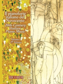 20th Century Italian Piano Music Volume 1 published by Ricordi