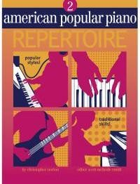 American Popular Piano Repertoire Level 2 by Norton published by Novus