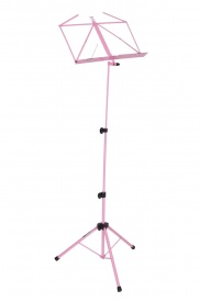 Kinsman Pink Music Stand with Carry Case