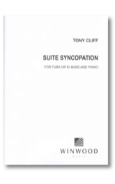 Cliff: Suite Syncopation for Tuba & Eb Bass published by Winwood