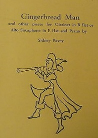 Pavey: Gingerbread Man for Clarinet or Saxophone published by Piper