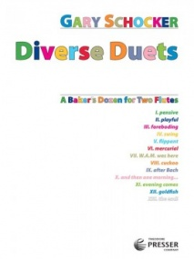 Schocker: Diverse Duets for Flute published by Presser