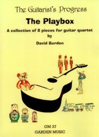 The Guitarist's Progress The Playbox published by Garden Music