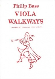 Viola Walkways by Bass published by Piper