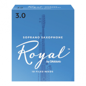Royal by D'Addario Soprano Saxophone Reeds (Pack of 10)