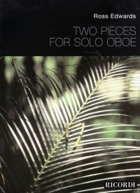 2 Pieces for Solo Oboe by Edwards published by Ricordi