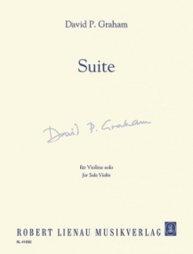 Graham: Suite for Solo Violin published by Robert Lienau