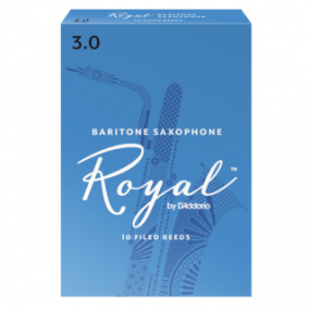 Royal by D'Addario Baritone Saxophone Reeds (Pack of 10)