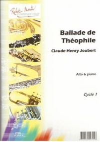 Joubert: Ballade de Théophile for Viola published by Robert Martin