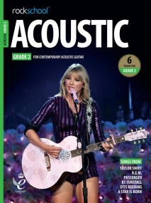 Rockschool Acoustic Guitar - Grade 2 (2019+) (Book/Online Audio)