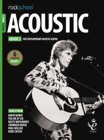 Rockschool Acoustic Guitar - Grade 3 (2019+) (Book/Online Audio)