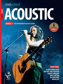 Rockschool Acoustic Guitar - Grade 4 (2019+) (Book/Online Audio)
