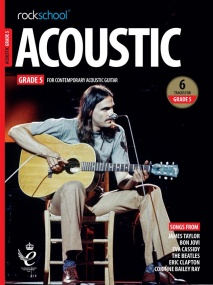 Rockschool Acoustic Guitar - Grade 5 (2019+) (Book/Online Audio)