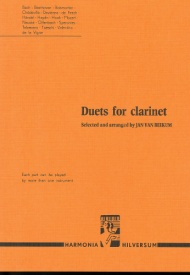 Beekum: Duets for Clarinet published by Harmonia