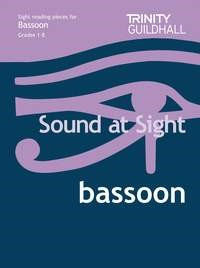 Sound At Sight Grades 1 - 8 for Bassoon Published by Trinity
