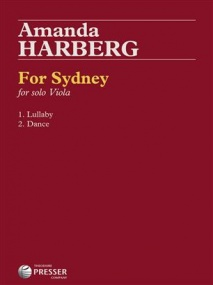 Harberg: For Sydney for Solo Viola published by Presser