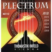 Thomastik AC112 Plectrum Bronze Medium Light 12-59 Acoustic Guitar Strings