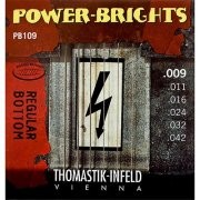 Thomastik PB109 Power-Bright 09-42 Electric Guitar Strings Light Set