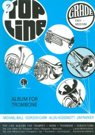 Top Line for Trombone (Bass Clef) published by Brasswind