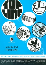 Top Line for Trombone (Treble Clef) published by Brasswind