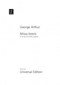 Arthur: Missa Brevis SATB published by Universal - Choral Score