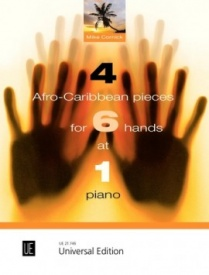 4 Afro-Caribbean Pieces for 6 hands at 1 Piano published by Universal Edition