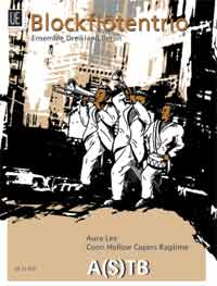 Aura Lee / Coon Hollow Capers Ragtime for Recorder Trio published by Universal