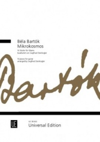 Bartok: Mikrokosmos for Guitar published by Universal