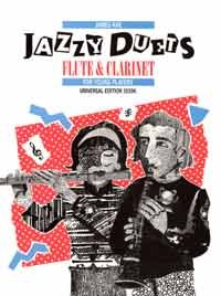 Rae: Jazzy Duets for Flute and Clarinet published by Universal Edition