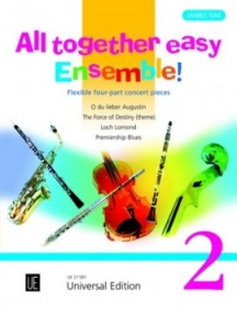 All Together - Easy Ensemble  Volume 2 published by Universal Edition