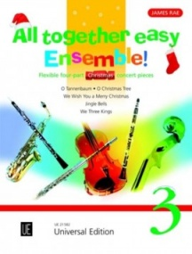 All Together – Easy Ensemble Volume 3 (Christmas) published by Universal