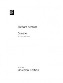 Strauss: Sonata in Eb Opus 18 for Violin published by Universal