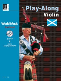 World Music - Scotland for Violin Book & CD published by Universal