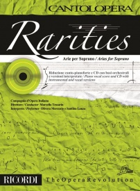 Cantolopera : Rarities - Arias for Soprano Book & CD published by Ricordi