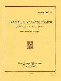Fantaisie Concertante for Tuba or Bass Trombone by Castèréde published by Leduc