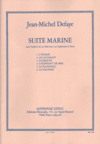 Defaye: Suite Marine for Tuba published by Leduc