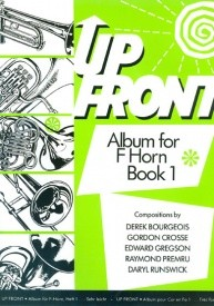 Up Front Book 1 for Horn in F published by Brasswind