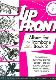 Up Front Album 2 for Trombone (Treble Clef) published by Brasswind