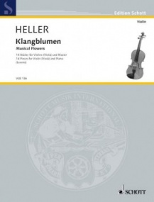 Heller: Musical Flowers (Klangblumen) for Viola published by Schott