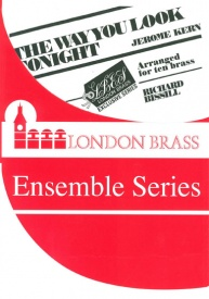 The Way You Look Tonight for 10 brass players published by Brasswind