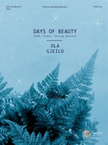 Gjeilo: Days of Beauty for String Quartet published by Walton