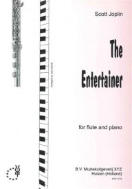Joplin: The Entertainer for Flute published by XYZ