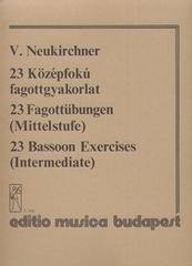 Neukirchner: 23 Bassoon Exercises published by EMB
